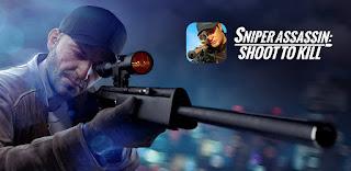 تحميل لعبة القنص Sniper 3D Assassin مهكرة (عملات ذهبية وجواهر غير محدوده) اخر اصدار