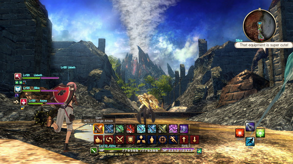 Sword Art Online Hollow Realization Deluxe Edition PC Full Version Screenshot 2