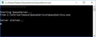 QueueService Console Application