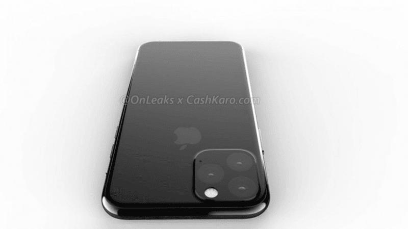 Apple's upcoming iPhone XI has a huge triple-camera bump