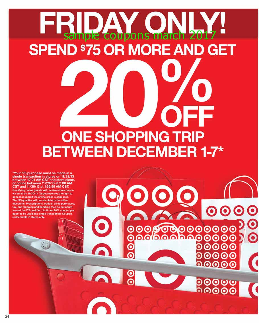 Free shipping coupons for target online
