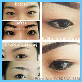 Hairu Salon, Sulam Alis Sandra Lim