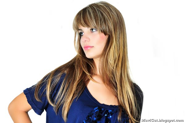 Hair Styles For Long Thick Hair: Cute Long Hairstyles With Bangs