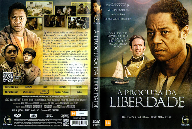 Capa DVD À Procura da Liberdade