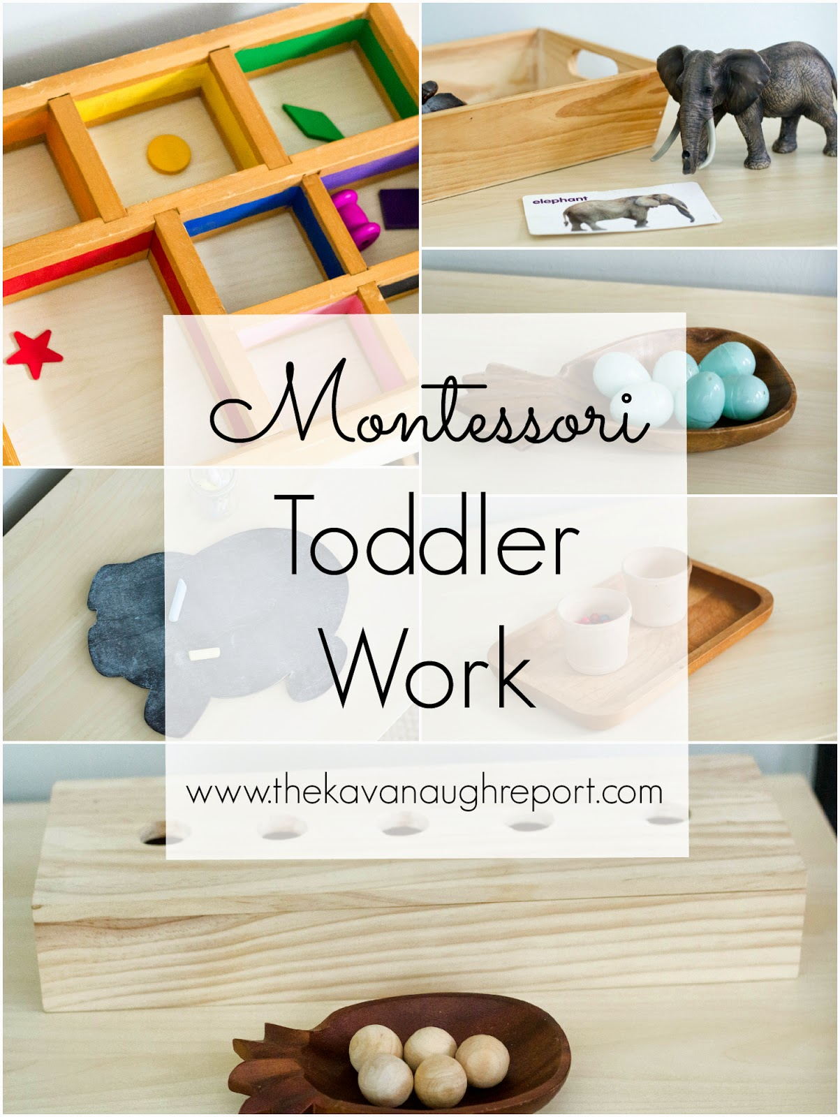 How do you keep toddlers busy in a homeschool classroom? Here are some Montessori inspired ideas on how to make homeschooling work with toddlers.