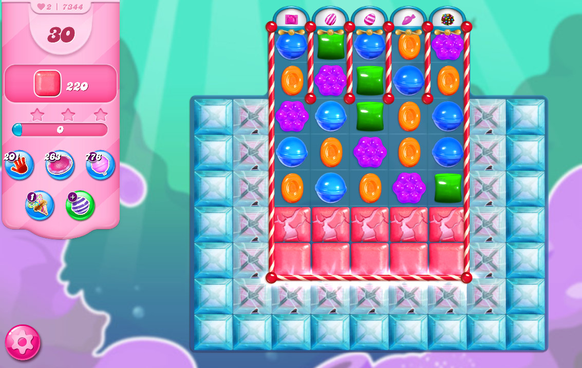 Candy Crush Saga level 7344