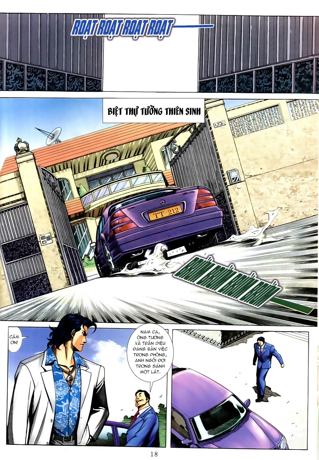 Người Trong Giang Hồ chapter 556: làm khó nam đẹp trai trang 12