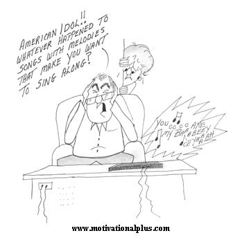 Mike Moore's Laughter Lounge : New Cartoon: American Idol????