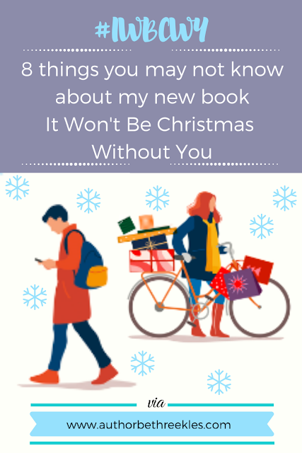 To celebrate the festive season and the release of my first Christmas book, I share a few things you might not know about the book in this post!