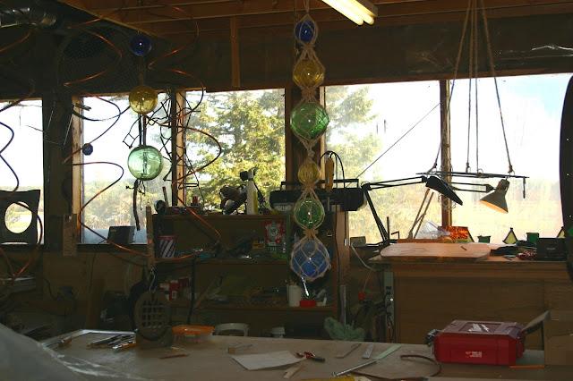 Fred's Found Art Sanctum!