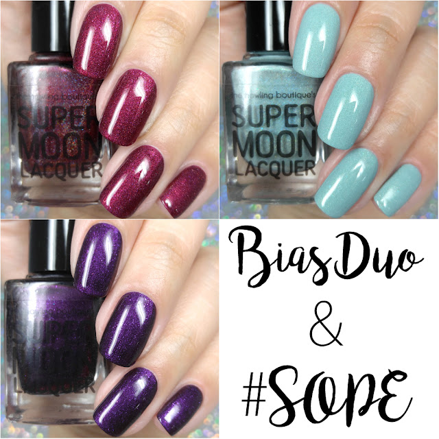 Supermoon Lacquer - 2019 Bias Birthday Duo & #SOPE