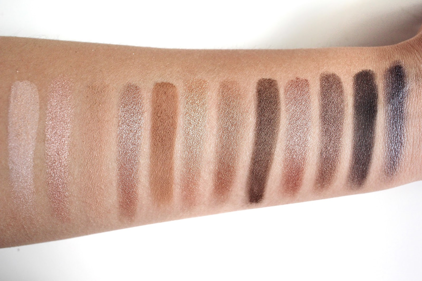 Urban decay naked palette swatches images 42