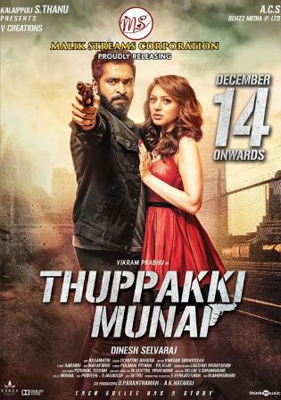 Thuppaki Munnai (2019) Hindi Dubbed 720p HDRip 800MB Free Download