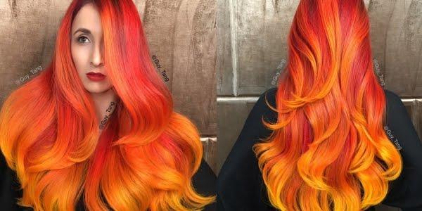 Glow In The Dark Hair Glowing Phoenix Neon