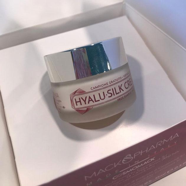 Campione gratis crema giorno Hyalu-silk cream