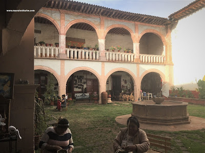 The Palace of Huitziméngari in Pátzcuaro