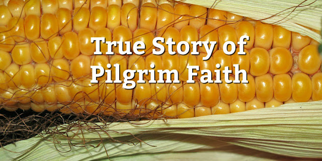This true story will amaze you at the faith of the Pilgrims and inspire you to celebrate Thanksgiving with even more gratitude. #BibleLoveNotes #Bible