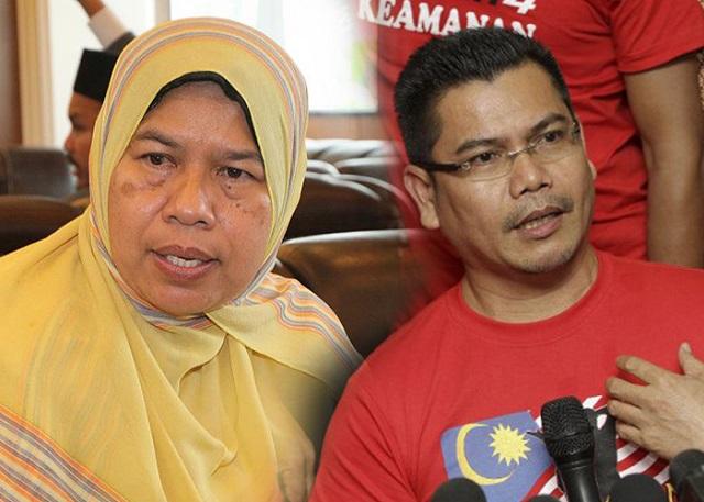 Jamal, Zuraida Bertembung Di IPD Ampang Jaya