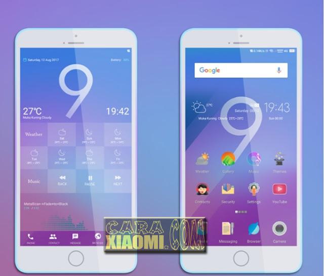 Tema Xiaomi Core 999 Light Theme Design [Suport For MIUI 9]