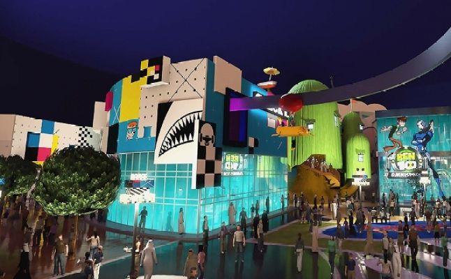 اى ام جى دبى عالم من المغامرات IMG Worlds of Adventure dubai building