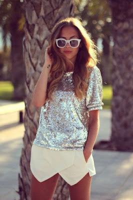 Outfits con BLUSAS DE LENTEJUELAS que amaras por siempre