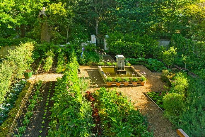 Stellenberg Gardens, huerto