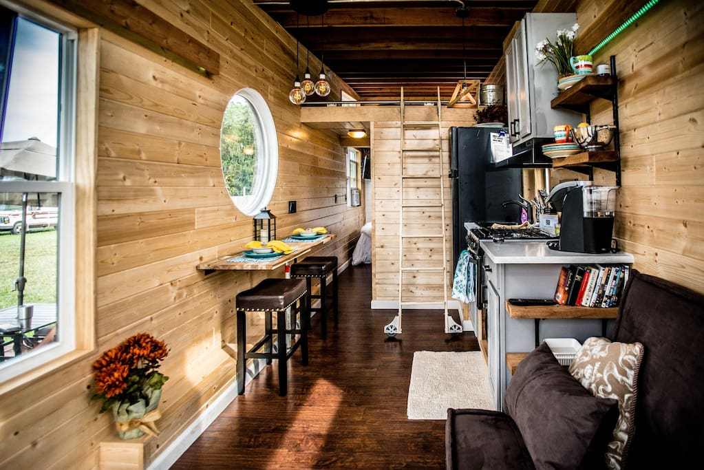TINY HOUSE TOWN: The Industrial From Wheel Life Tiny Homes