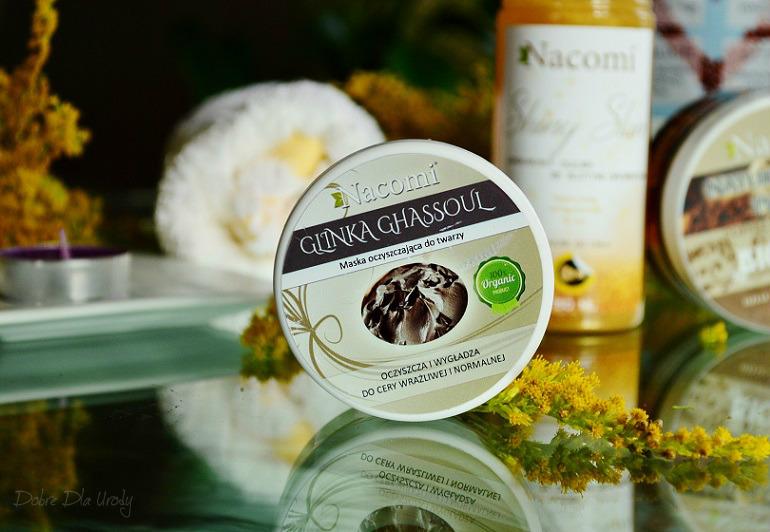 Nacomi Glinka Ghassoul Maska Oczyszczająca do twarzy - kosmetyki naturalne