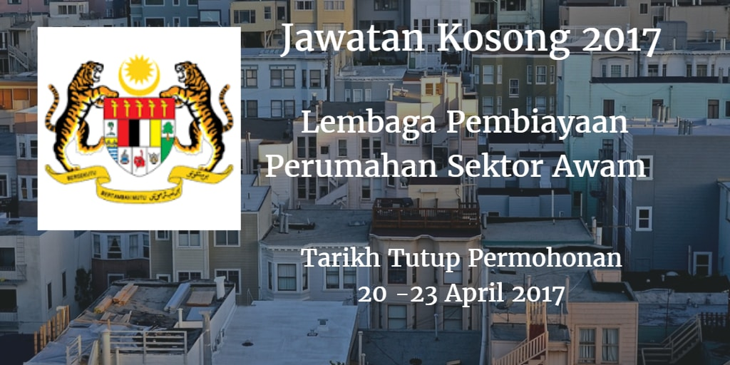 Jawatan Kosong LPPSA 20 -23 April 2017