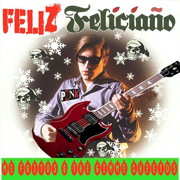 """Me Fritos And The Gimme Cheetos stream new song """"Feliz Navidad (Jose Feliciano Cover)"""""""