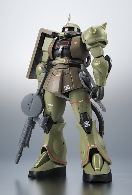 MS-06 Zakuii Mass Production Model (A.N.I.M.E, Real Type Color/Robot Spirits)