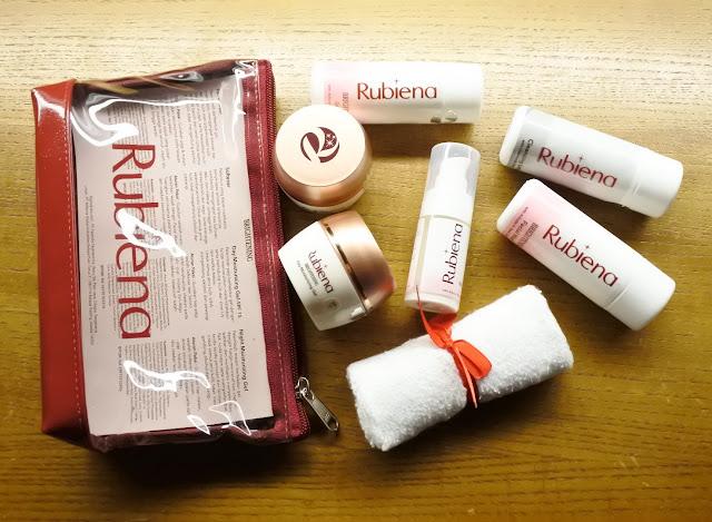 Rubiena Brightening Series lengkap