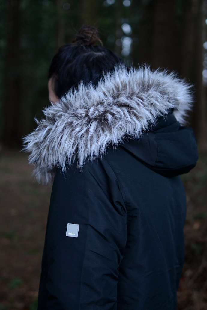 Bench Sizzle Zip Thru parka Vancouver fashion blogger Covet and Acquire