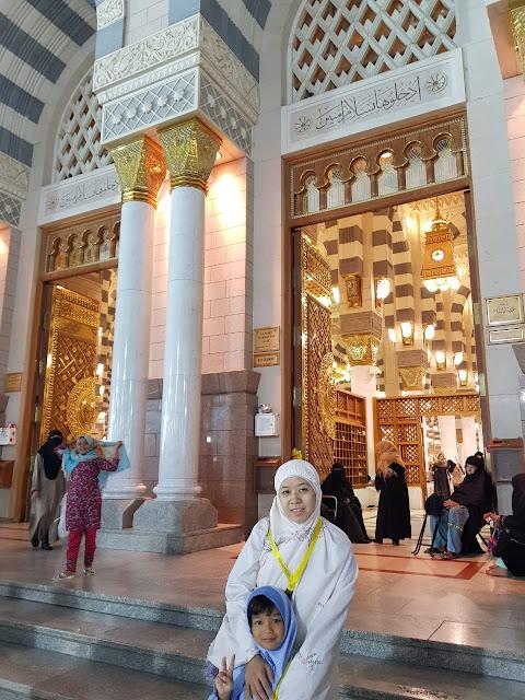 Solat di masjid nabawi pahalanya 1000x lipat