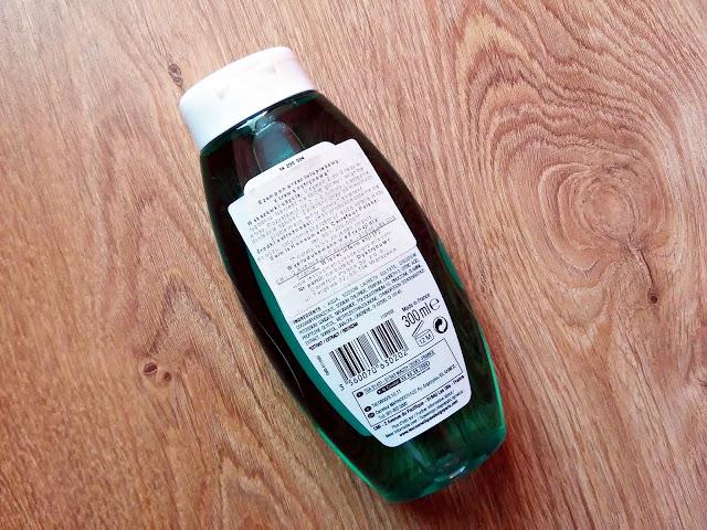 Nectar Of Nature - Szampon przeciwłupieżowy z trawą cytrynową, opis opakowania