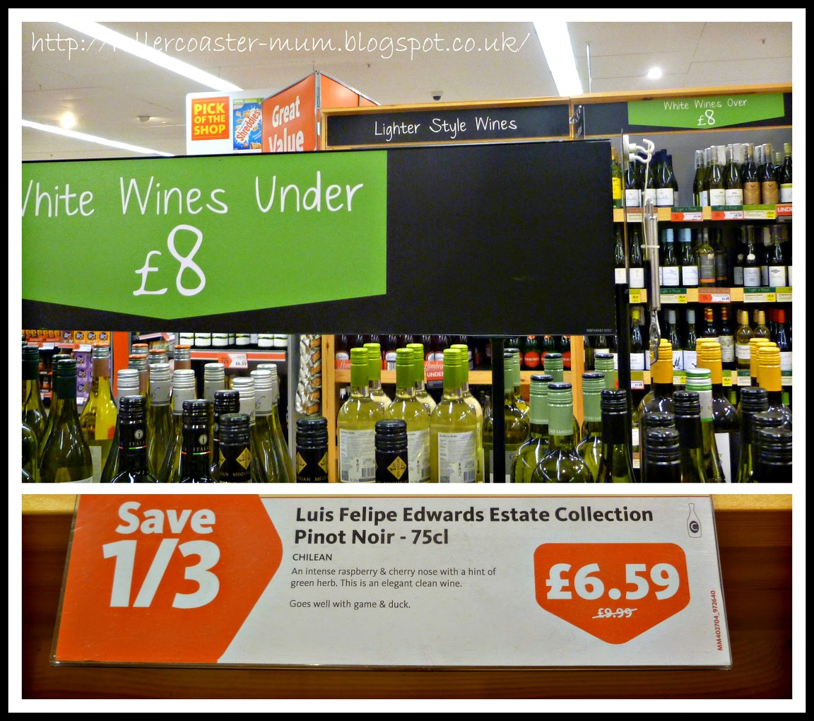 #MorrisonsMum essentials - the wine aisle
