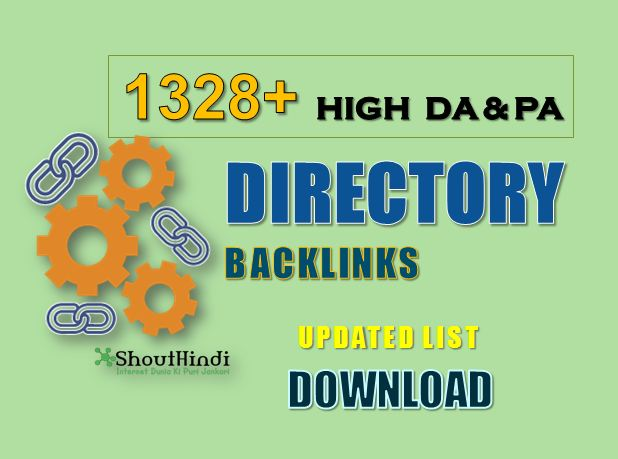 1328+ High DA Directory Submission Sites List 2020 (Updated)