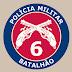 Ações do 6º Batalhão