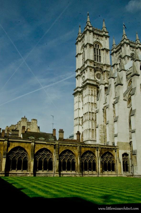 architektura w Londynie, westminster abbey
