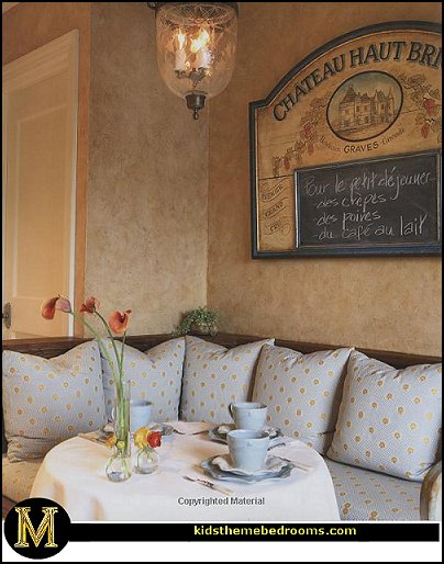 French Cafe Paris Bistro Style Decorating Ideas Country Theme