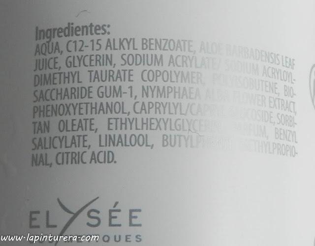 hidratante ingredientes