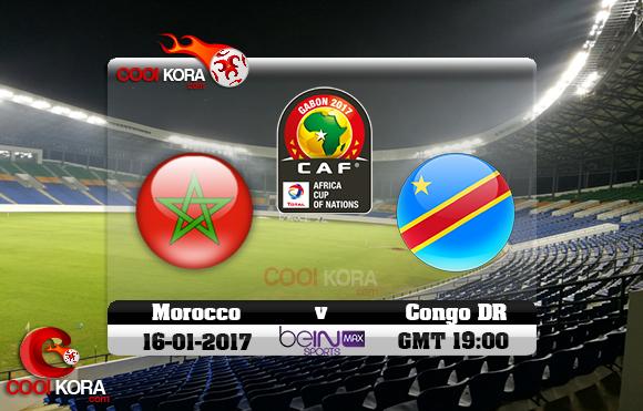 مشاهدة مباراة المغرب والكونغو اليوم كأس أمم أفريقيا 16-1-2017 علي بي أن ماكس