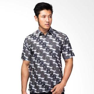 Model Baju Batik Pria Lengan Pendek Resmi