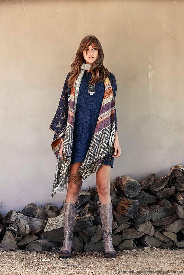 Moda otoño invierno 2016 Tucci vestidos.