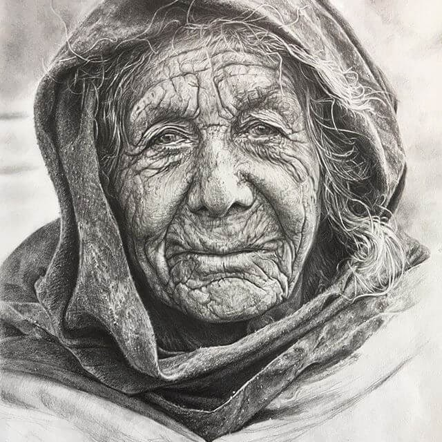 01-Generations-in-Pencil-Portraits-Aduhong-www-designstack-co