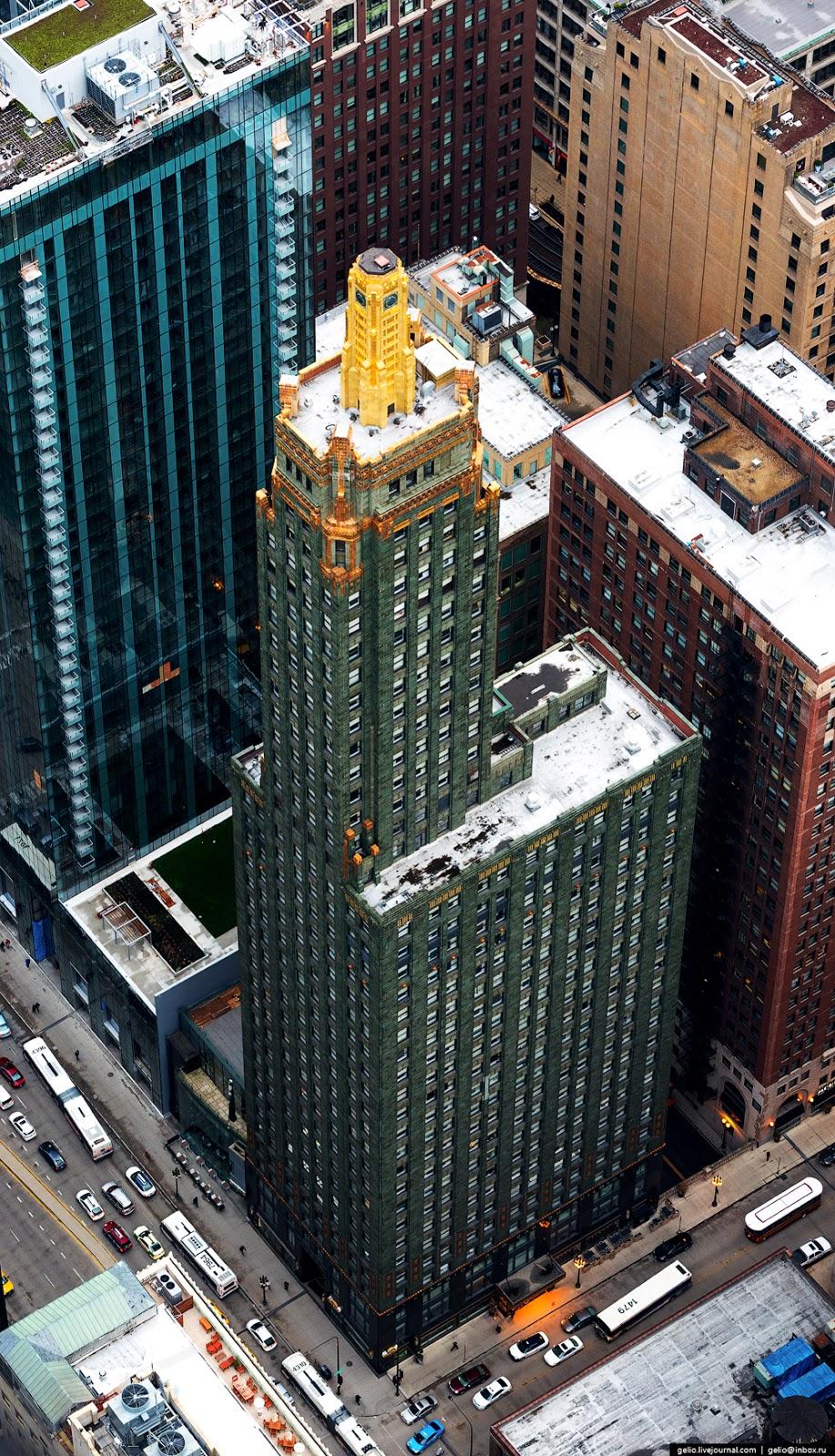 Обои небоскребы, мичиган, chicago, чикаго, иллиноис. Города foto 15
