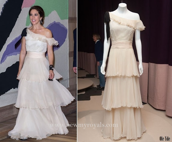 Crown Princess Mary wore Oly Yde Dresss