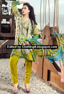 Ayesha Chottani eid dresses 2015 by Shariq