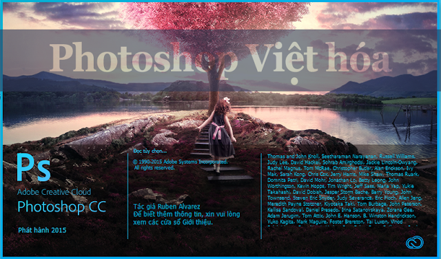 [ Download ] Adobe Photoshop Việt Hóa 2017