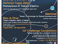 Essay Competition, Elec-a-thon, dan oT Design Competition 2018 di ITB